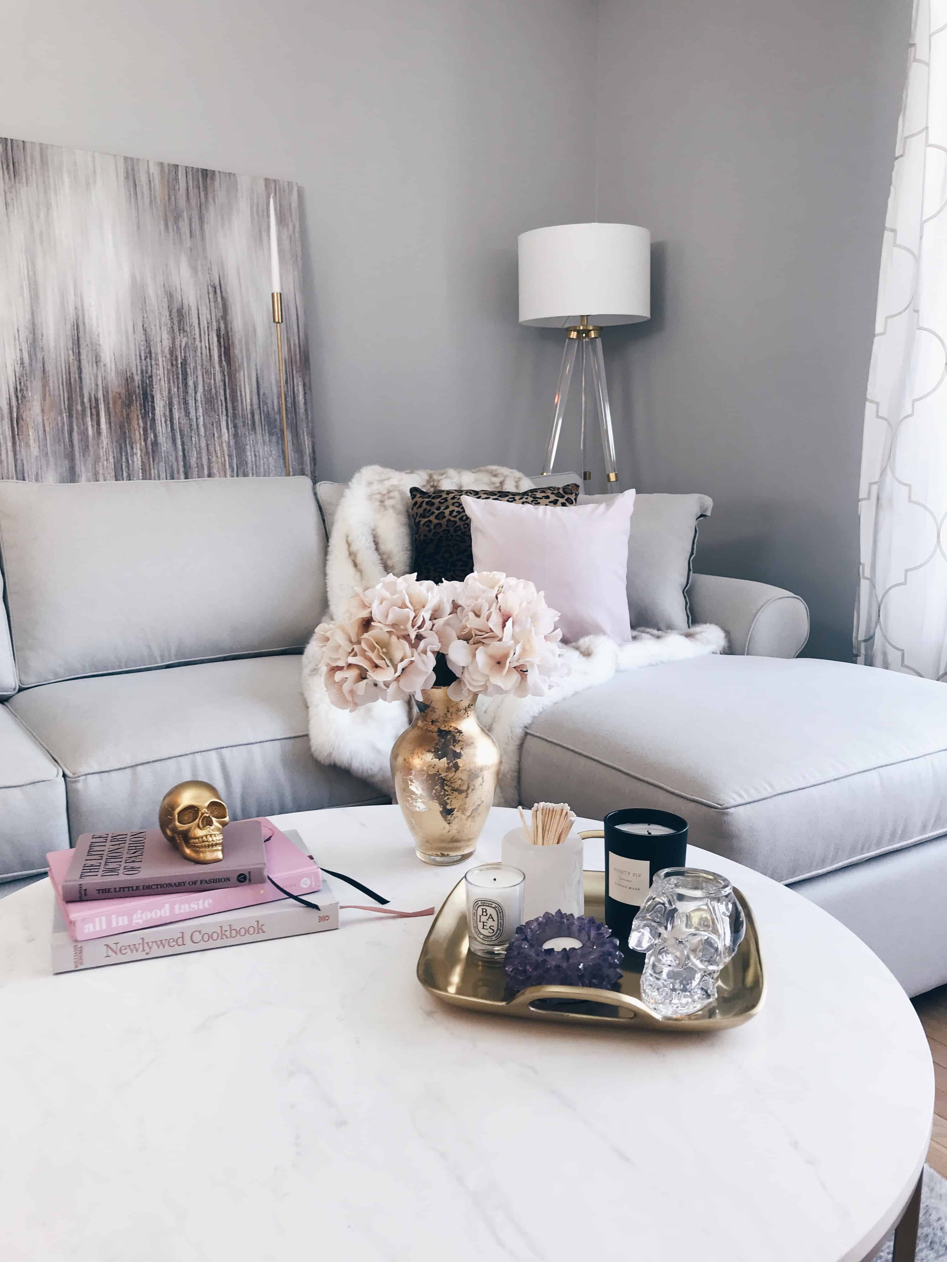 Bringing A Modern Glam Living Room Vision To Life • A