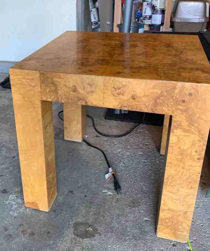 milo Baughman table Facebook marketplace