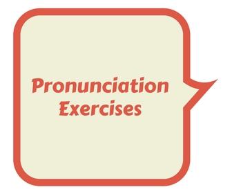Pronunciation Exercises 1 – Αγγλικά Πάστρας blog