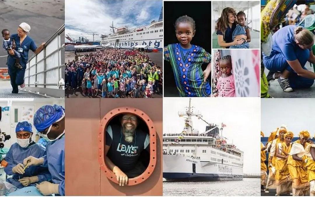 Aglo støtter Mercy Ships