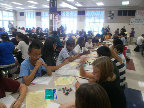 Palm Beach County (FL) Middle/High School Equations Tournament at Forest Hill HS