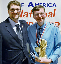 Craig Zeller (L) with Joseph Arrigo