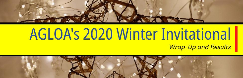 AGLOA's 2020 Winter Invitational