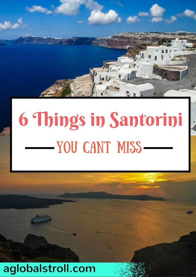 Santorini Greece Must Do