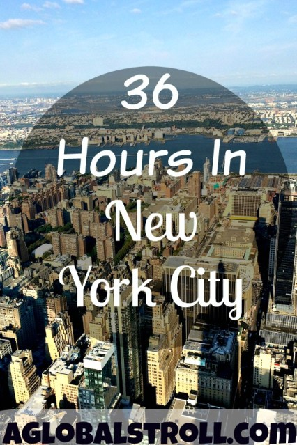36 Hours in New York