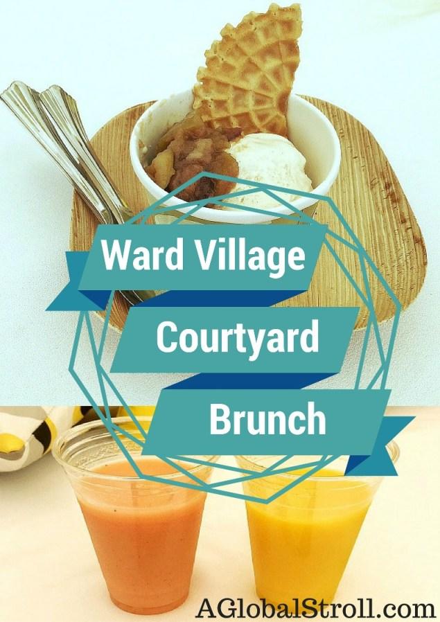 Ward Village Courtyard Brunch