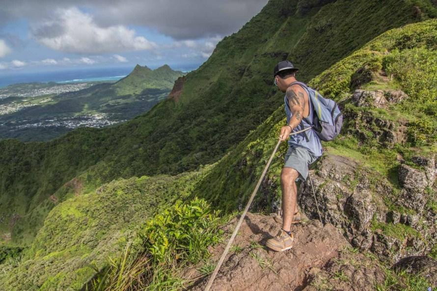 Pali Lookout Hawaii