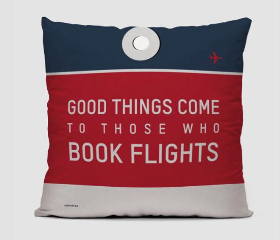 Airport Code Pillow