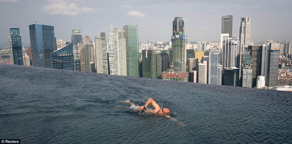 Marina Bay Sands Singapore Infinity Pool
