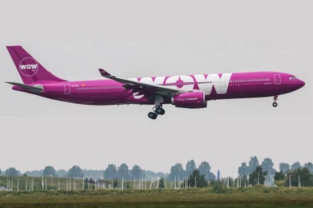 WOW Air Iceland