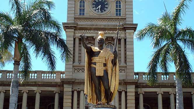 Kamehameha Statue Hawaii