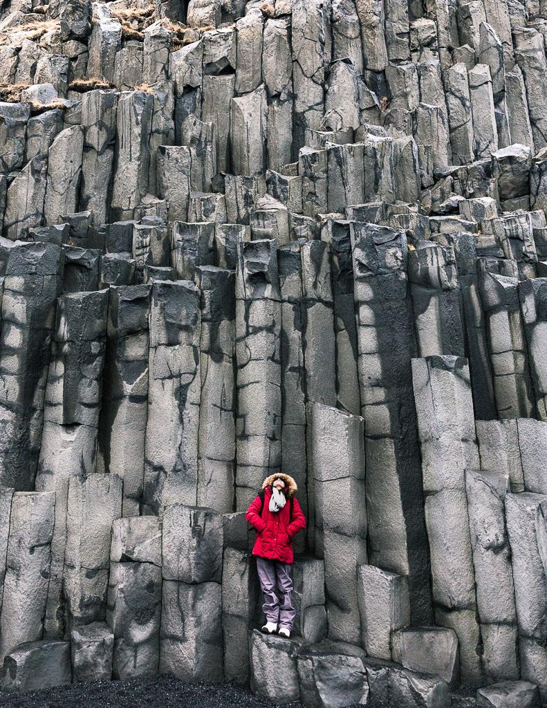 Black Sand Beach Vik Iceland Basalt Columns