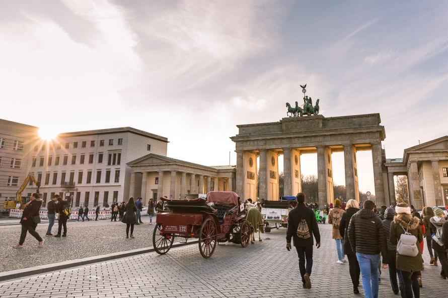bradenburg gate berlin germany