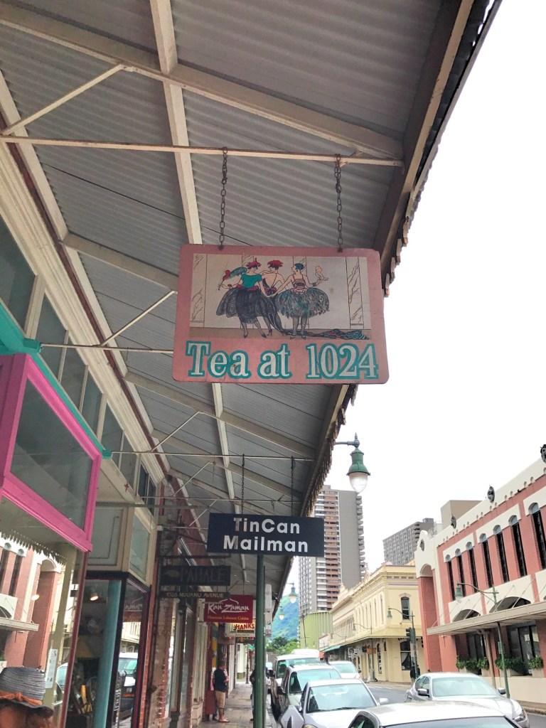 tea at 1024 Honolulu