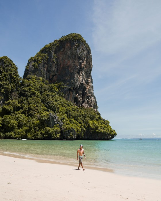railay west krabi thailand