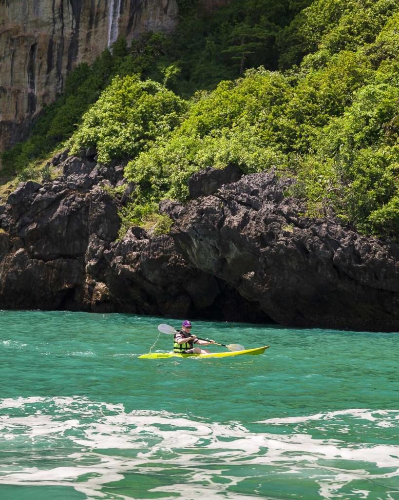 kayak railay krabi thailand