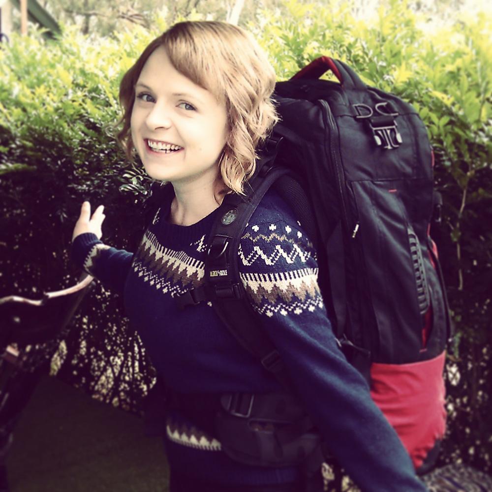 Ashlea the backpacker