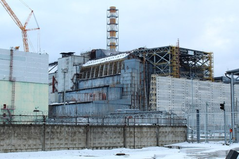 Chernobyl nuclear power plant reactor