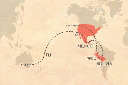 Next Trip Map