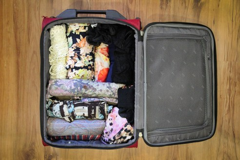 Packing lightly