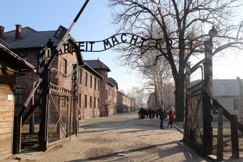 Haunting images of the Auschwitz Death Camp