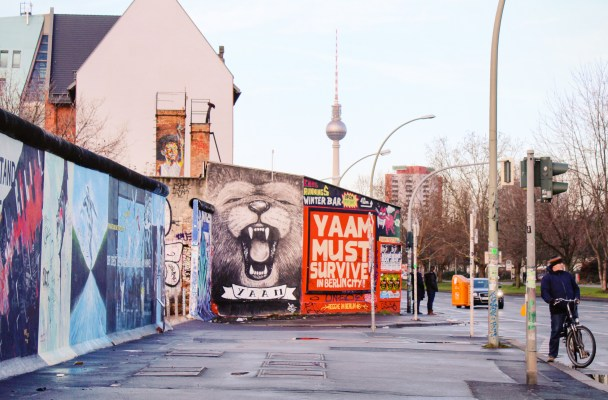 Finding East Side Gallery on the Berlin Wall