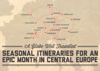 Seasonal itineraries for an epic month in Central Europe