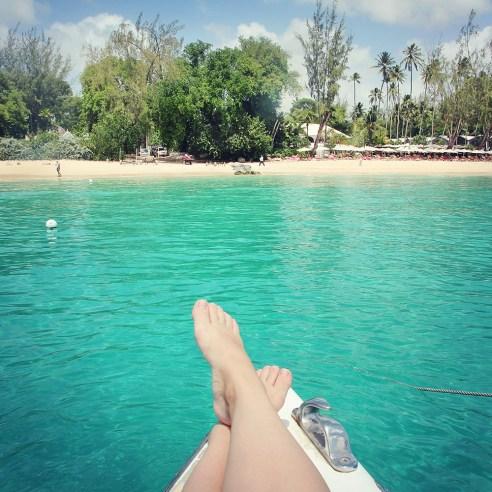 Catamaran cruise, Barbados