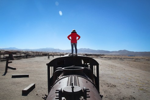 Train graveyard, Bolivia