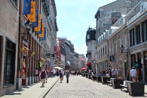 Rue Saint Paul, Montreal
