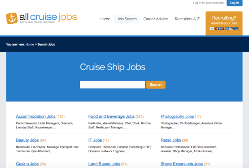 All Cruise Jobs