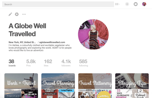 Use Pinterest to market yourself as a freelancer
