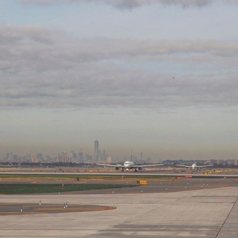 JFK airport, New York City