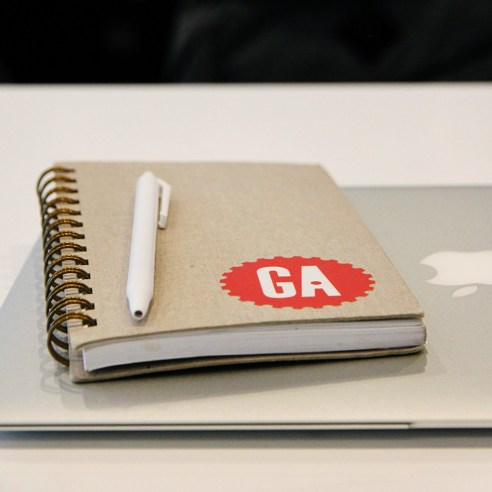 General Assembly notebook