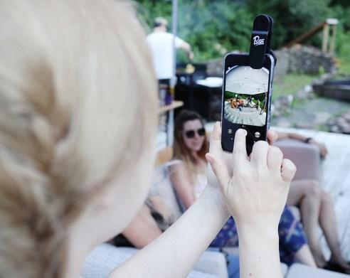 Fisheye smartphone lens, Pixter
