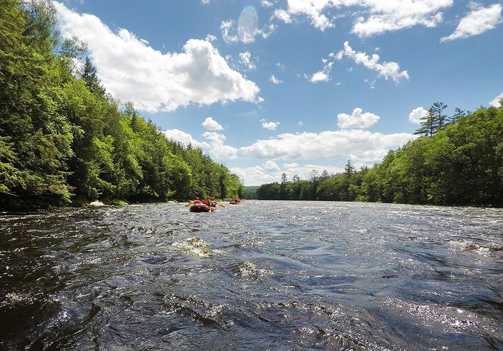 Whitewater Rafting, The Adirondacks