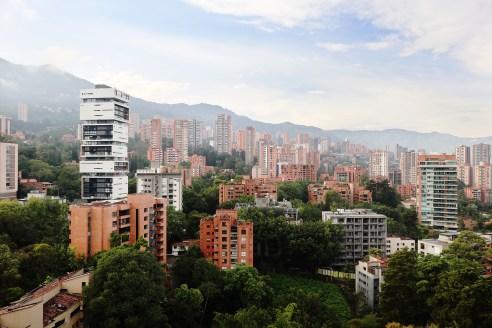Medellin skyline, Colombia