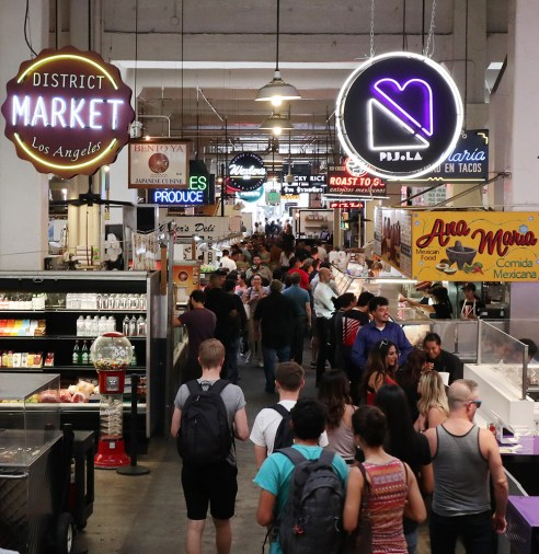 Grand Central Market, Los Angeles
