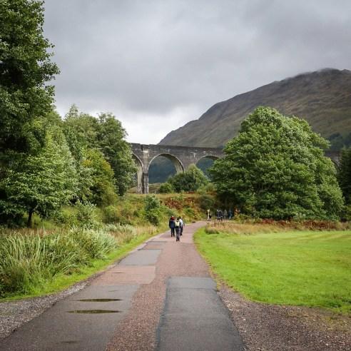 Glenfinnan Viaduct walking trail