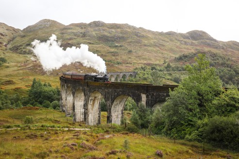 How to see the Hogwarts Express at Glenfinnan Viaduct