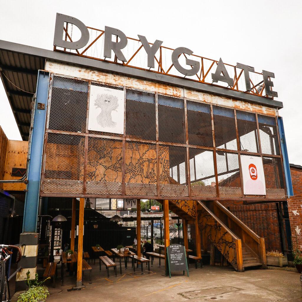 Drygate Brewery, Glasgow, Scotland