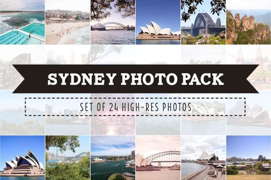 Sydney Photo Pack