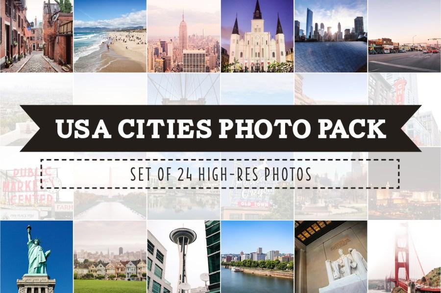 USA Cities Photo Pack