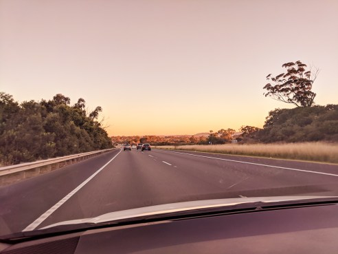 Hume Highway to Canberra