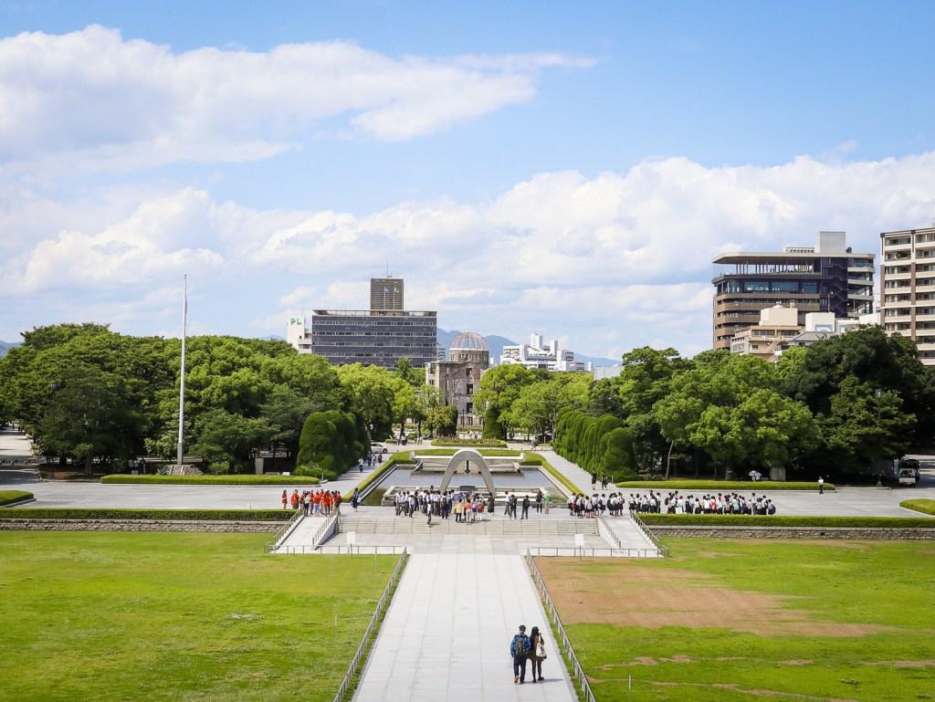 Hiroshima Peace Park, Hiroshima, Japan