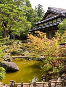 Yoshiki-en garden, Nara, Japan