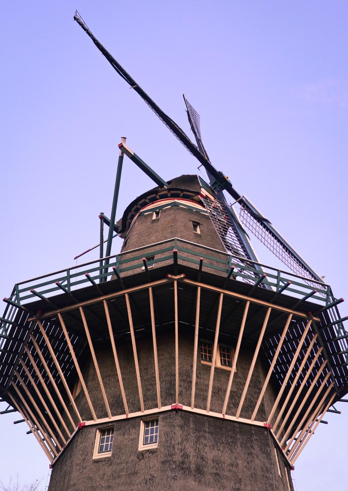 De Gooyer windmill in Amsterdam