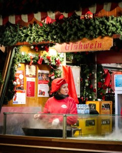 Glühwein (Mulled Wine) for sale at Germany's Christmas Markets