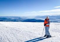 Skiing at Gerlitzen in Austria