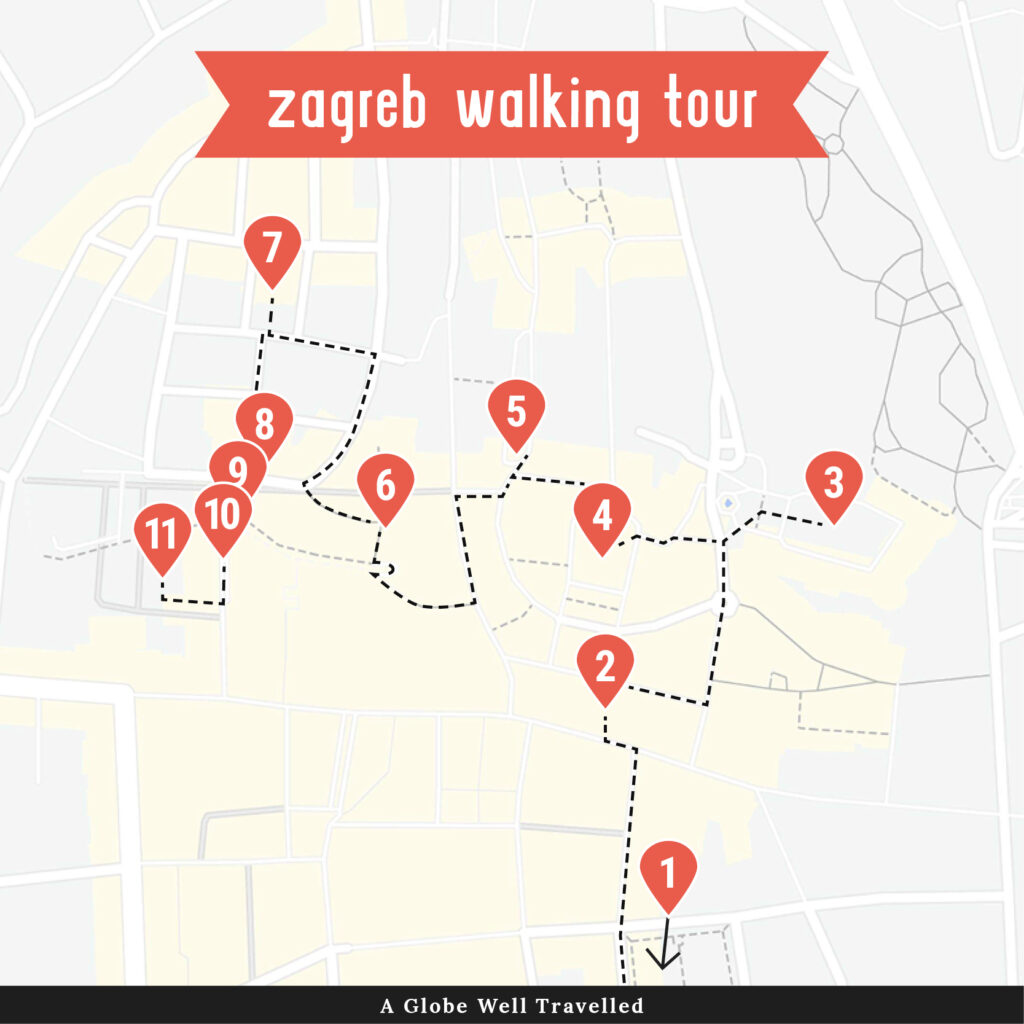 How To Spend One Perfect Day In Zagreb A Globe Well Travelled